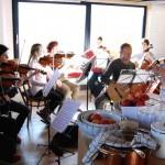 2017, Gina na zkoušce Akvarteta